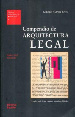 COMPENDIO DE ARQUITECTURA LEGAL / ESTUDIOS UNIVERSITARIOS DE ARQUITECTURA 2