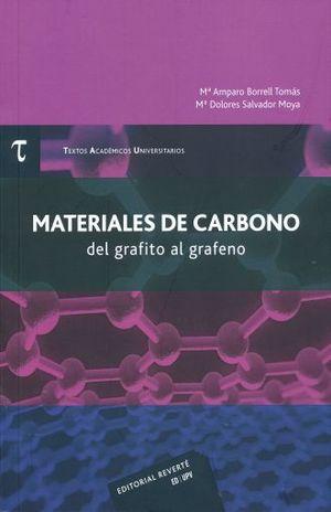 MATERIALES DE CARBONO DEL GRAFITO AL GRAFENO