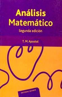 ANALISIS MATEMATICO / 2 ED.