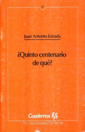 QUINTO CENTENARIO DE QUE