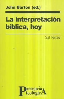 INTERPRETACION BIBLICA HOY, LA