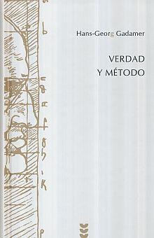 VERDAD Y METODO I / PD.