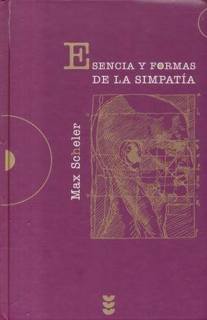 ESENCIA Y FORMAS DE LA SIMPATIA / PD.