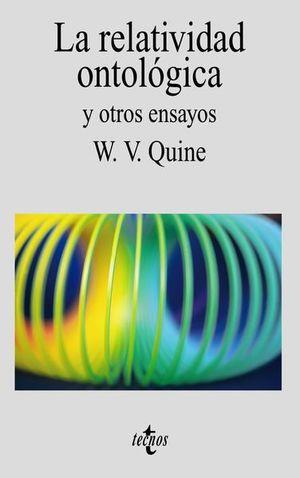 RELATIVIDAD ONTOLOGICA Y OTROS ENSAYOS
