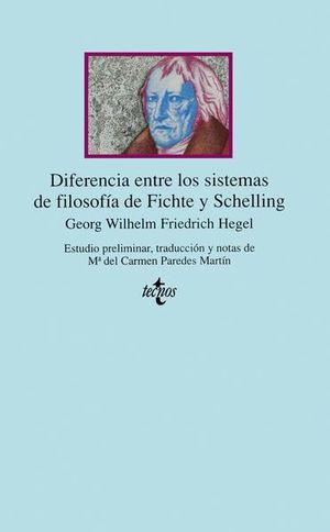 DIFERENCIA ENTRE LOS SISTEMAS DE FILOSOFIA DE FITCHE Y SCHELLING