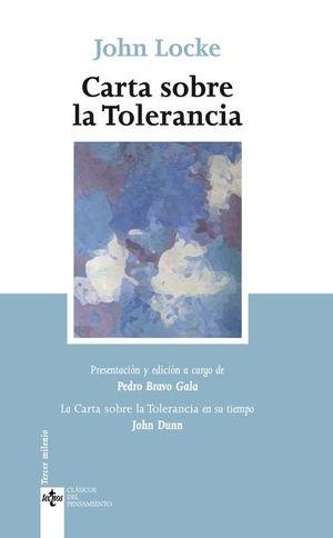 CARTA SOBRE LA TOLERANCIA / 6 ED.