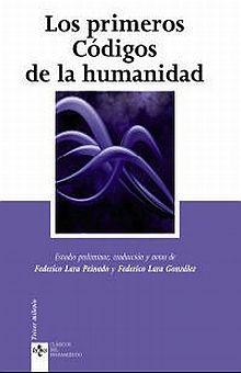 PRIMEROS CODIGOS DE LA HUMANIDAD, LOS