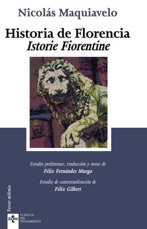 HISTORIA DE FLORENCIA. ISTORIE FIORENTINE