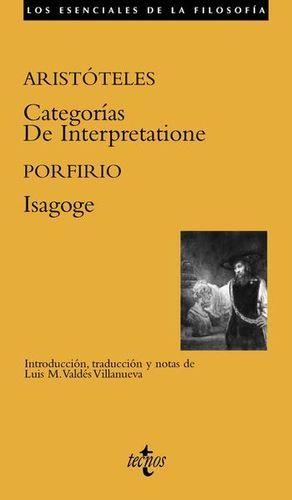 CATEGORIAS / DE INTERPRETATIONE / ISAGOGE