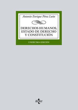 DERECHOS HUMANOS. ESTADO DE DERECHO Y CONSTITUCION