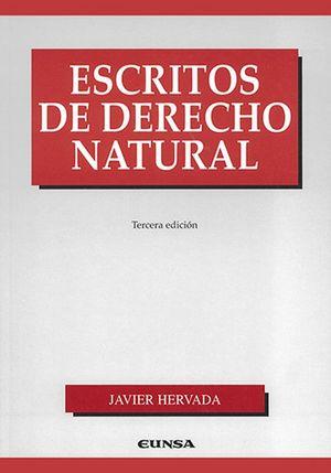 Escritos de derecho natural / 3 ed.