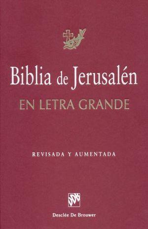 BIBLIA DE JERUSALEN / PD. (LETRA GRANDE)