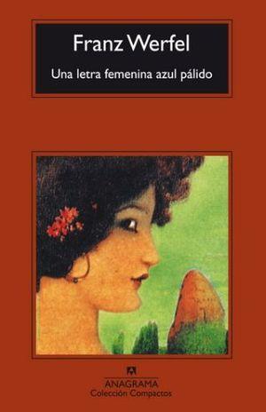 UNA LETRA FEMENINA AZUL PALIDO