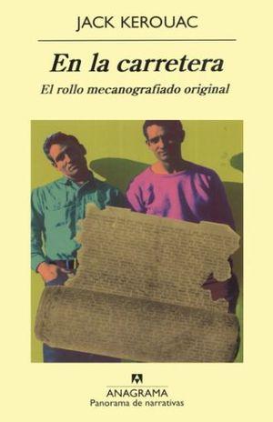 EN LA CARRETERA. EL ROLLO MECANOGRAFIADO ORIGINAL