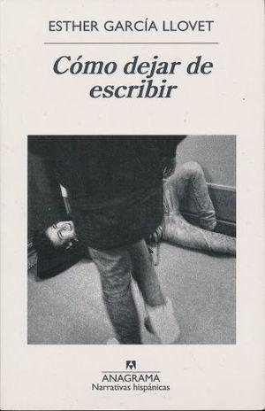 COMO DEJAR DE ESCRIBIR
