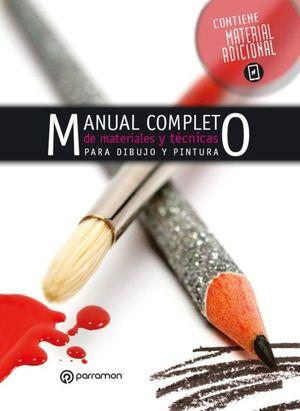 Manual completo de materiales y técnicas de dibujo y pintura