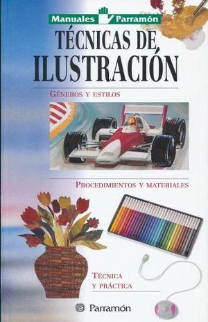 MANUAL TECNICAS EN ILUSTRACION / MANUALES PARRAMON / PD.