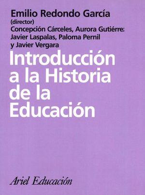 INTRODUCCION A LA HISTORIA DE LA EDUCACION