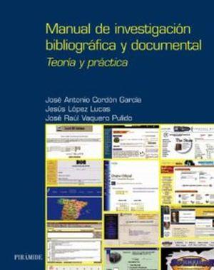 Manual de investigación bibliográfica y documental