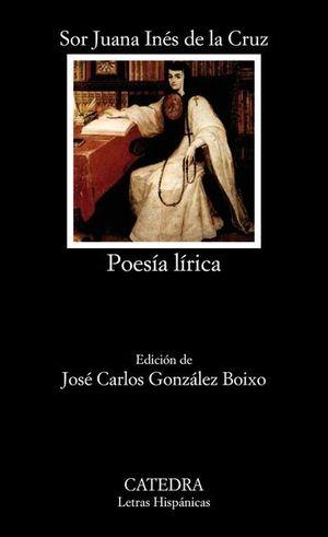 POESIA LIRICA / SOR JUANA INES DE LA CRUZ