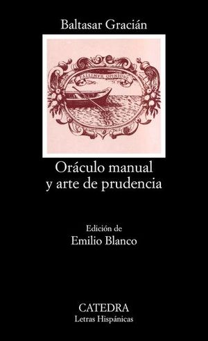 ORACULO MANUAL Y EL ARTE DE LA PRUDENCIA