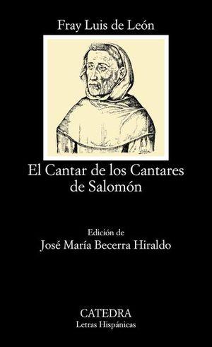CANTAR DE LOS CANTARES DE SALOMON, EL