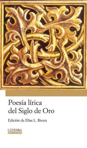 POESIA LIRICA DEL SIGLO DE ORO / PD.