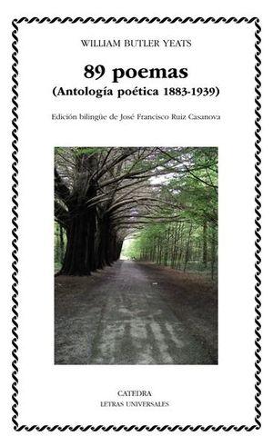 89 poemas (Antología poética 1883-1939). Edición bilingüe