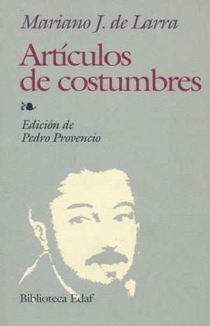 ARTICULOS DE COSTUMBRES / 6 ED.