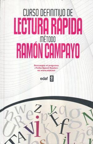 CURSO DEFINITIVO DE LECTURA RAPIDA METODO RAMON CAMPAYO / PD.