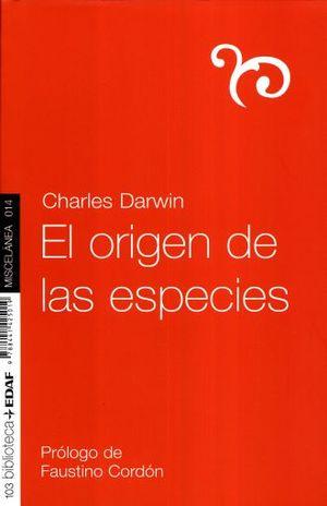 ORIGEN DE LAS ESPECIES, EL / 6 ED.