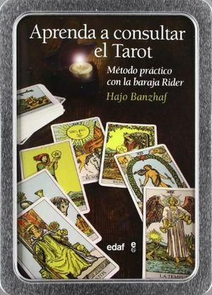 APRENDA A CONSULTAR EL TAROT. METODO PRACTICO CON LA BARAJA RIDER