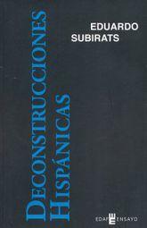 DECONSTRUCCIONES HISPANICAS