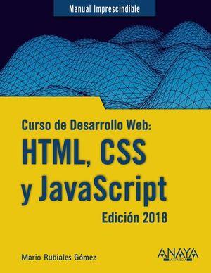 CURSO DE DESARROLLO WEB. HTML CSS Y JAVASCRIPT