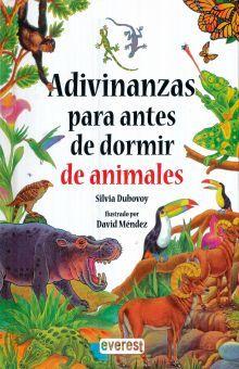 ADIVINANZAS PARA ANTES DE DORMIR DE ANIMALES / PD.