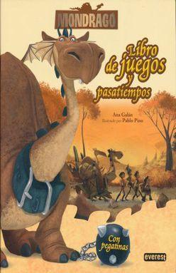 MONDRAGO. LIBRO DE JUEGOS Y PASATIEMPOS (INCLUYE STICKERS)