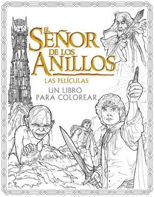 El Señor de los Anillos: Las películas. Un libro para colorear