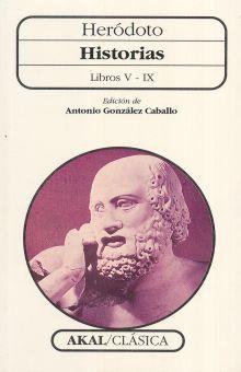 HISTORIAS. LIBROS V - IX