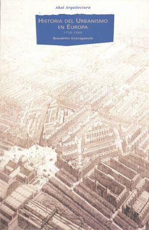 HISTORIA DEL URBANISMO EN EUROPA 1750 - 1960
