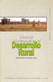 NUEVOS HORIZONTES EN EL DESARROLLO RURAL
