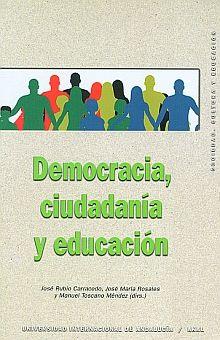 DEMOCRACIA CIUDADANIA Y EDUCACION