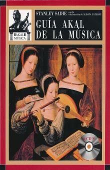 GUIA AKAL DE LA MUSICA / PD. (INCLUYE 6 CDS)