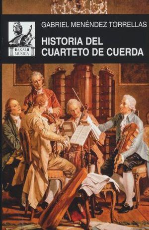 HISTORIA DEL CUARTETO DE CUERDAS / PD.