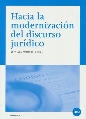 Hacia la modernización del discurso jurídico