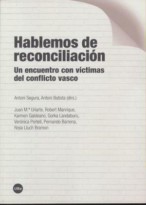 Hablemos de reconciliación
