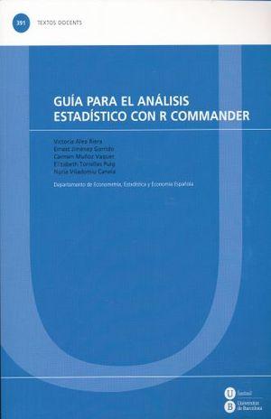 GUIA PARA EL ANALISIS ESTADISTICO CON R COMMANDER