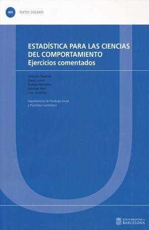 ESTADISTICA PARA LAS CIENCIAS DEL COMPORTAMIENTO
