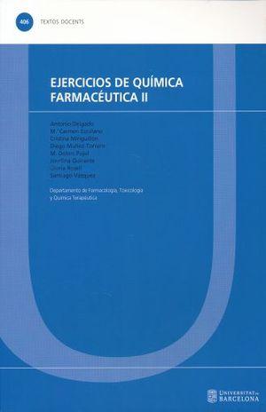 EJERCICIOS DE QUIMICA FARMACEUTICA II