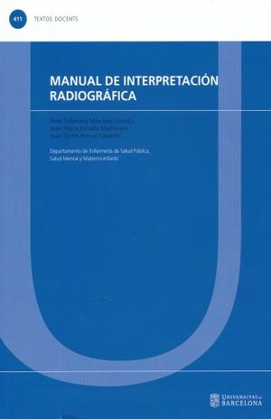 MANUAL DE INTERPRETACION RADIOGRAFICA