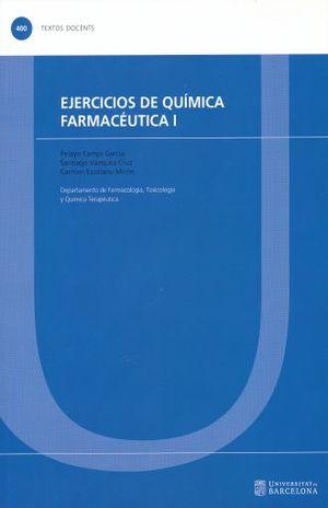 EJERCICIOS DE QUIMICA FARMACEUTICA I